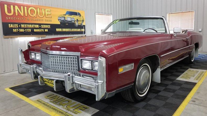 1975 Cadillac Eldorado For Sale