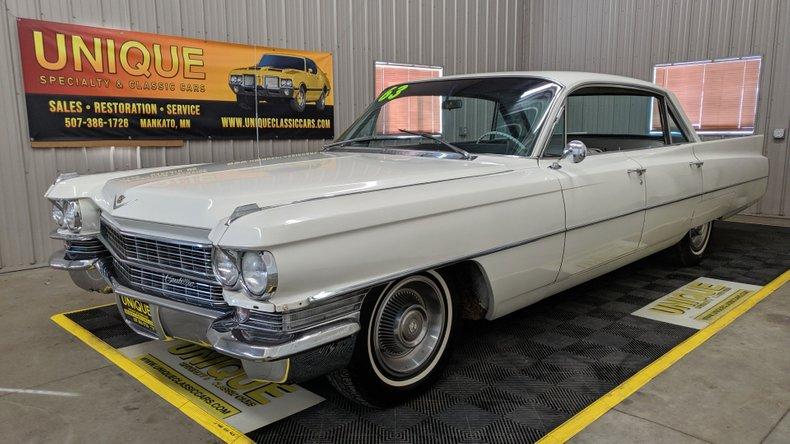 1963 Cadillac Series 62 Sedan