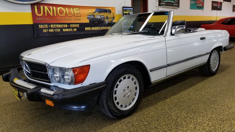 1989 Mercedes-Benz 560 SL Convertible For Sale