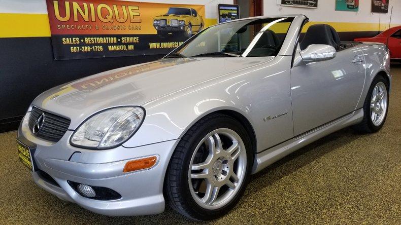 2003 Mercedes-Benz SLK32