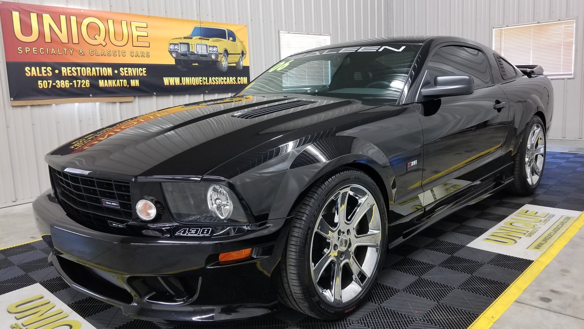 2006 ford mustang saleen s281 supercharged coupe ebay