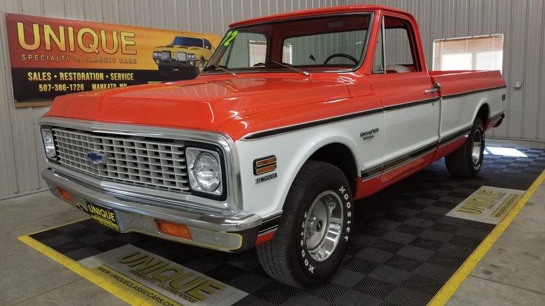 1972 Chevrolet CUSTOM 10 For Sale