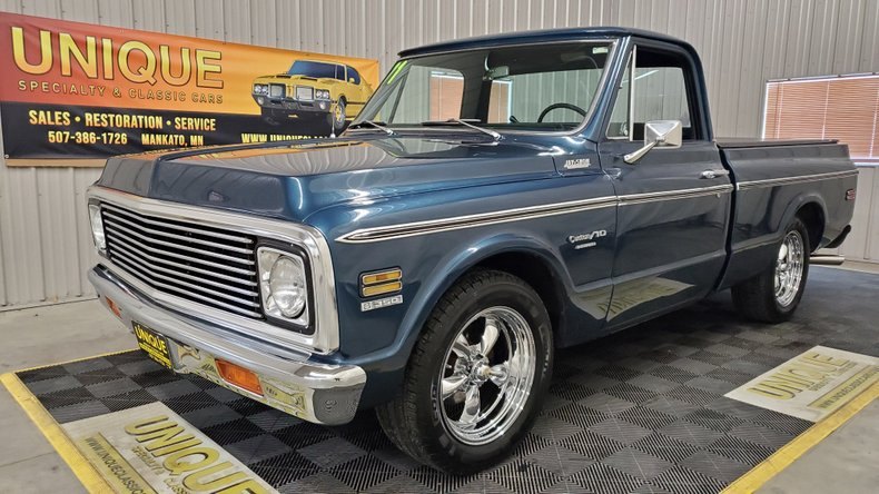 1971 Chevrolet C10 SHORT BOX