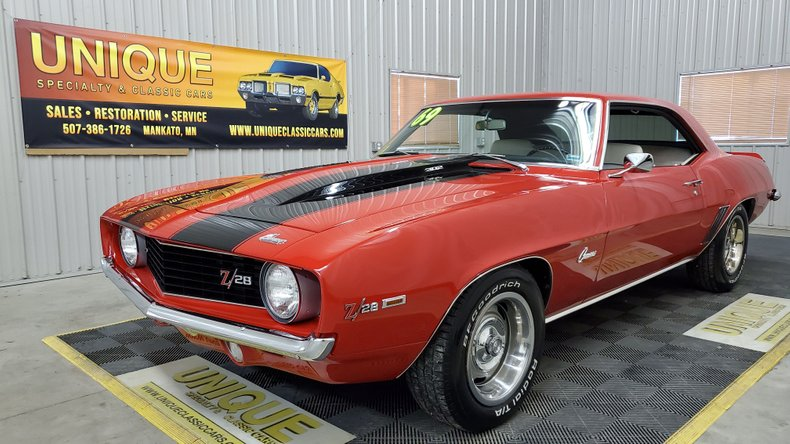 1969 Chevrolet Camaro For Sale