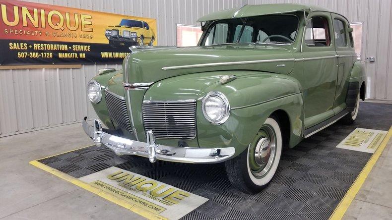 1941 Mercury Town Sedan
