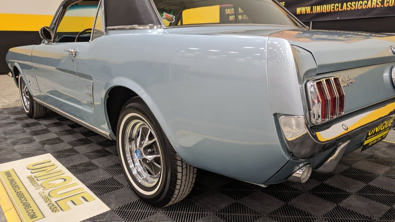 1966 Ford Mustang 10
