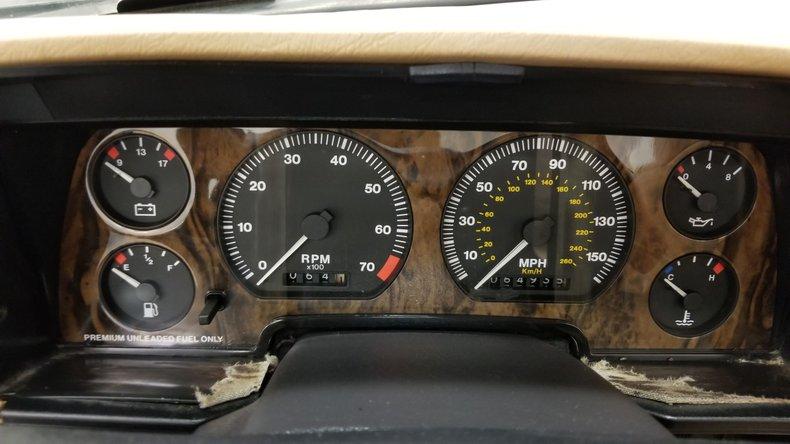 1992 Jaguar XJS V12 Convertible 37