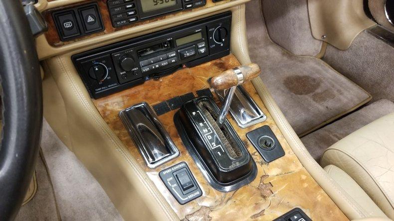 1992 Jaguar XJS V12 Convertible 40