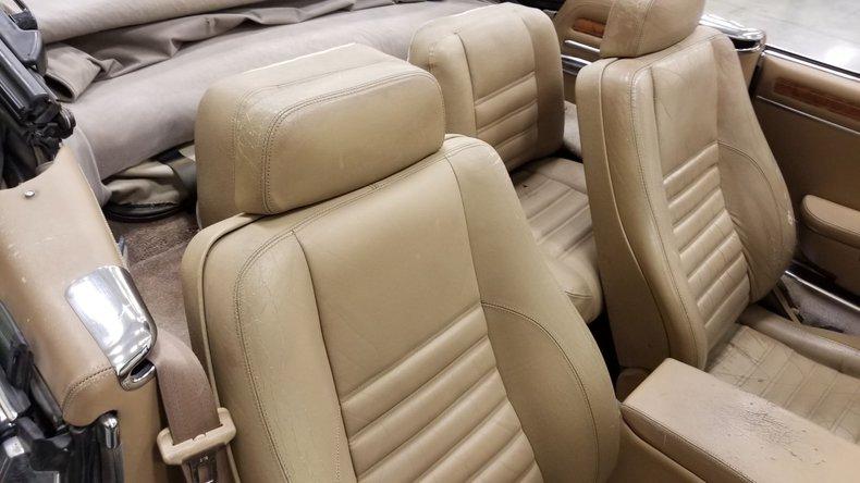 1992 Jaguar XJS V12 Convertible 50
