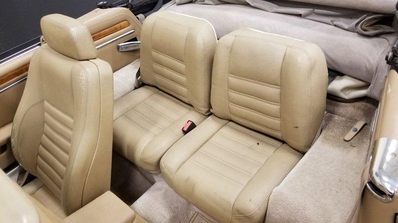 1992 Jaguar XJS V12 Convertible 53