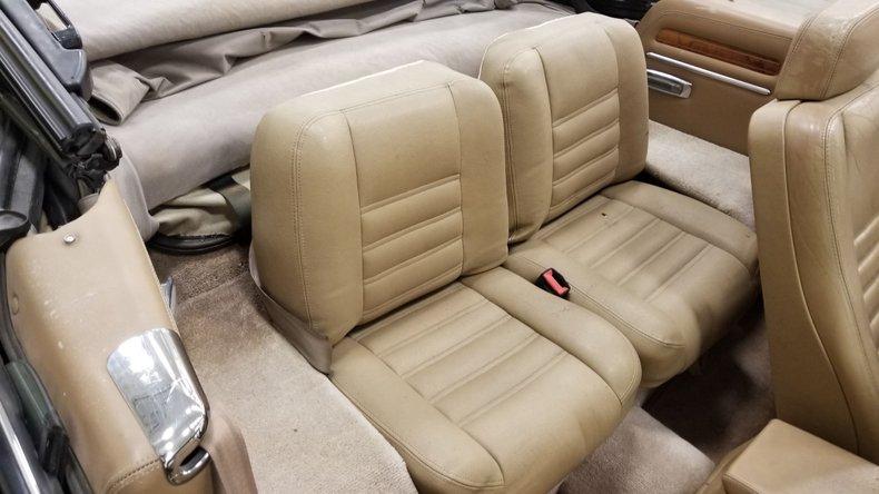 1992 Jaguar XJS V12 Convertible 57