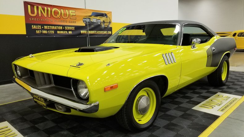 1972 Plymouth 'Cuda Tribute