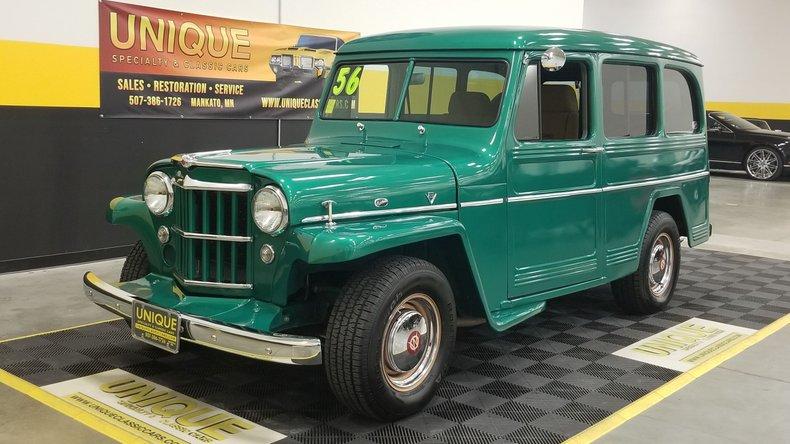 1956 Willys Station Wagon