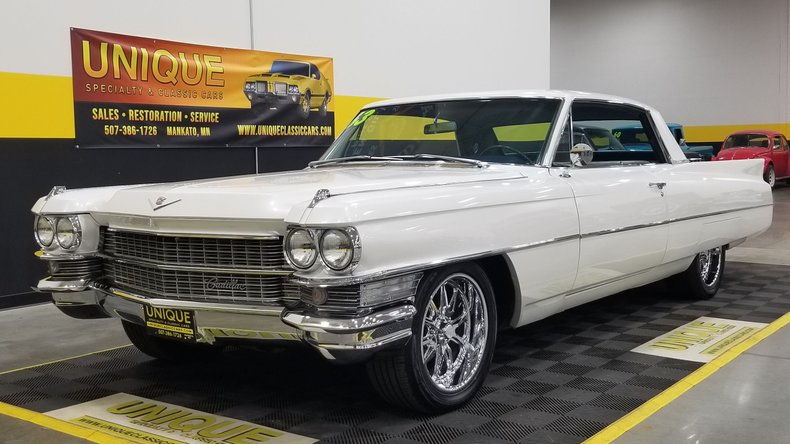 1963 Cadillac Series 62 Coupe