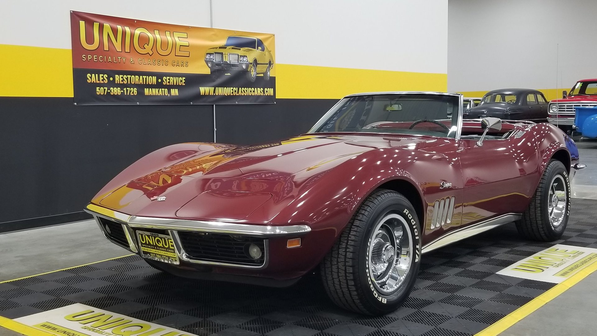1969 Chevrolet Corvette Convertible For Sale 218316 Motorious