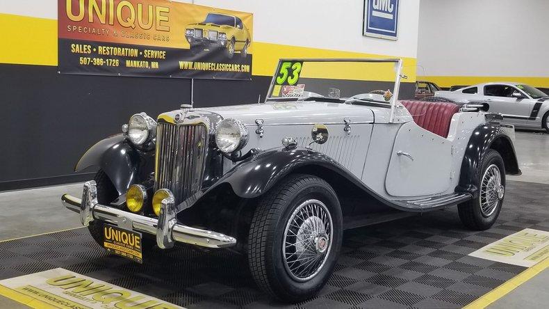 1953 MG TD Replica