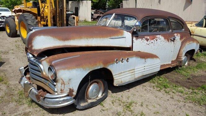1948 Pontiac SEDANETTE