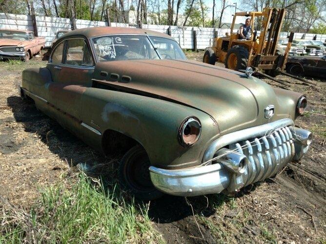 1950 Buick Sedan