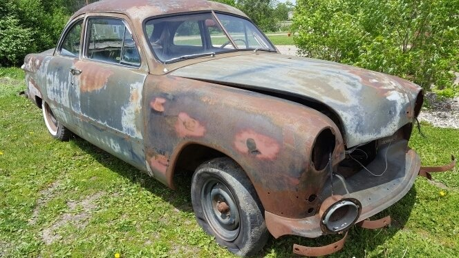 1950 Ford POST