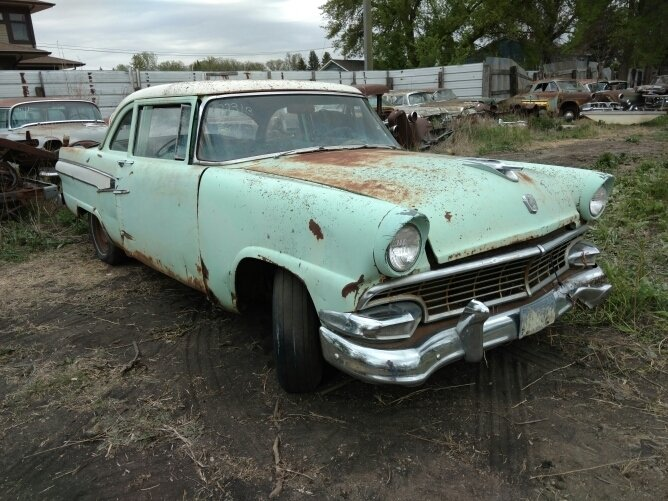 1956 Ford 2dr Post