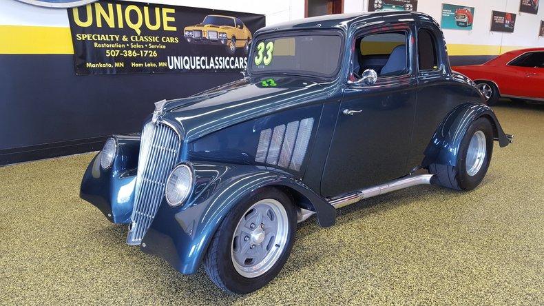 1933 WILLY'S 5 WINDOW