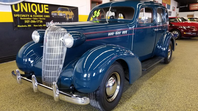 1936 Oldsmobile F36 Touring Sedan