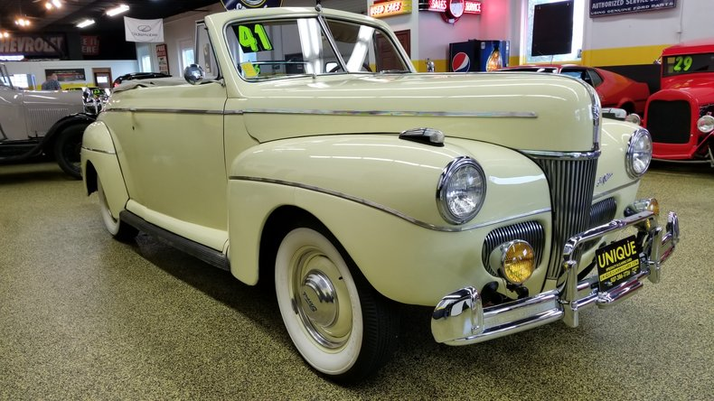 1941 Ford Super Deluxe Convertible for sale #4623 | Motorious