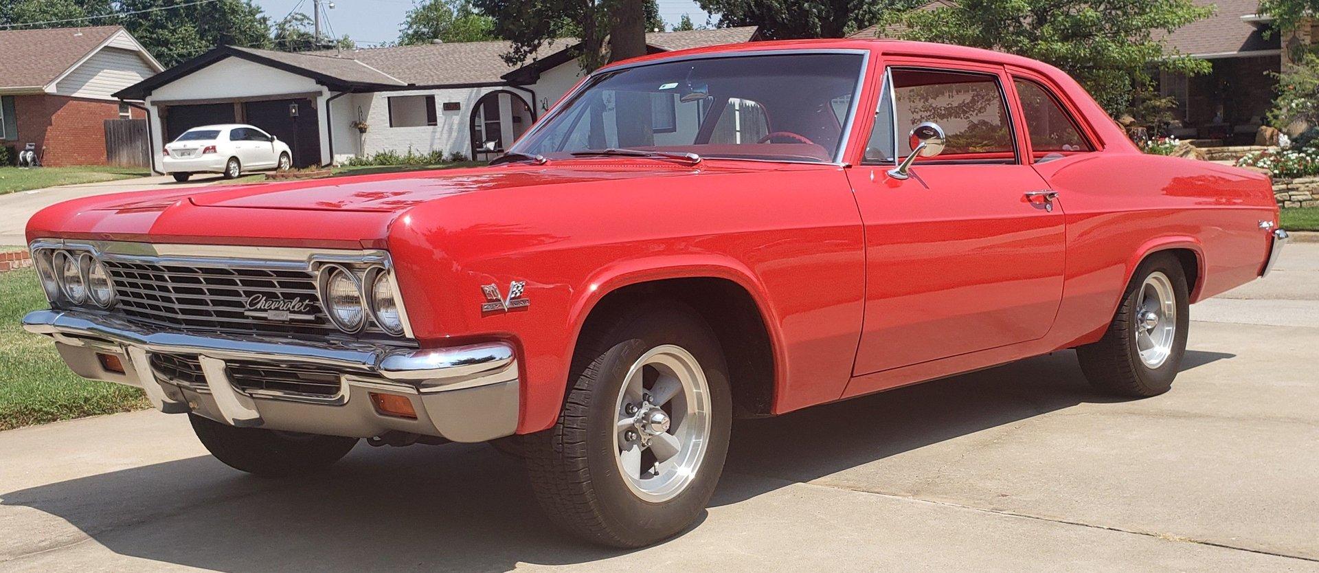 1966 chevrolet biscayne 2000r