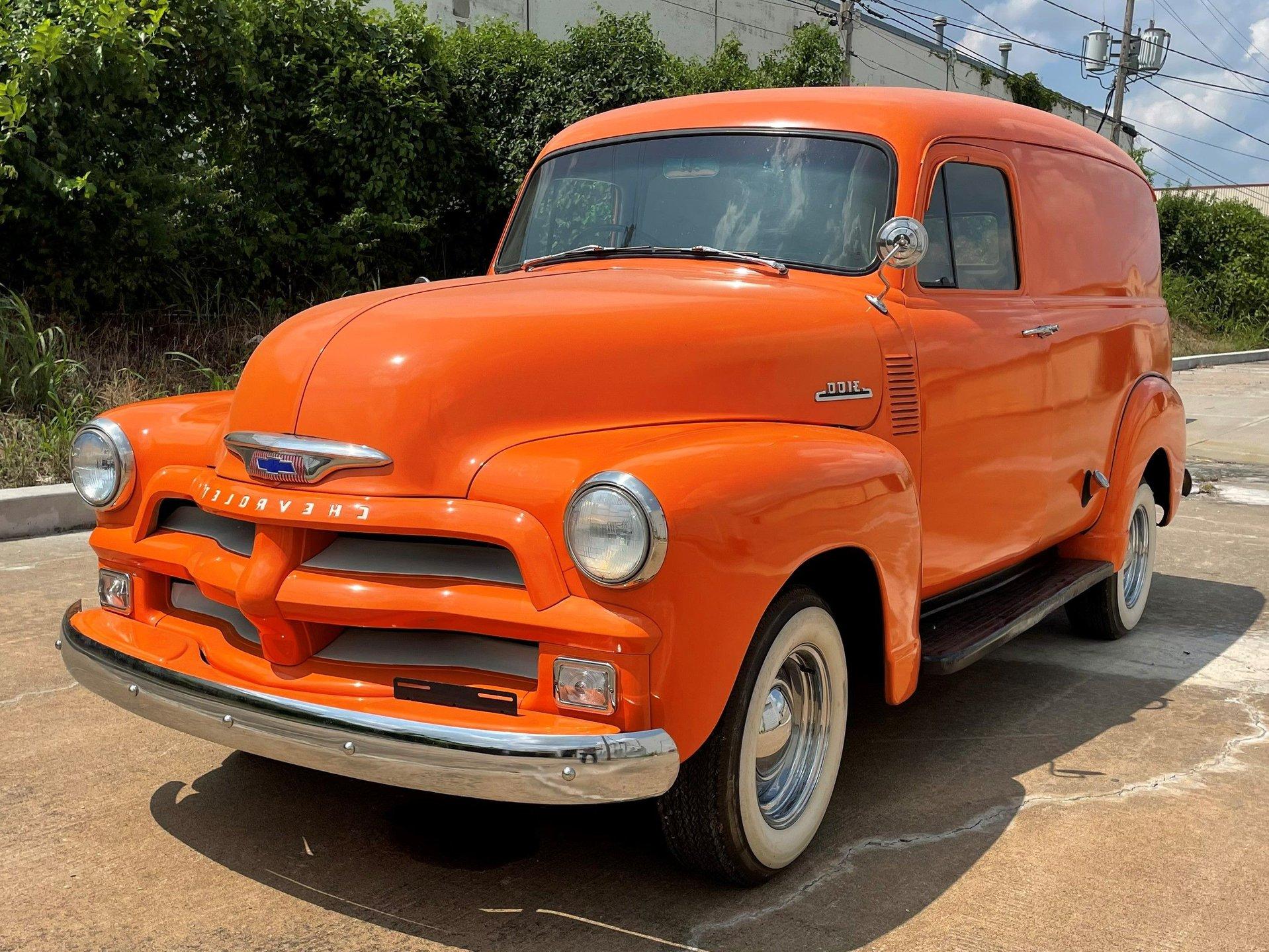 1954 chevrolet panel wagon