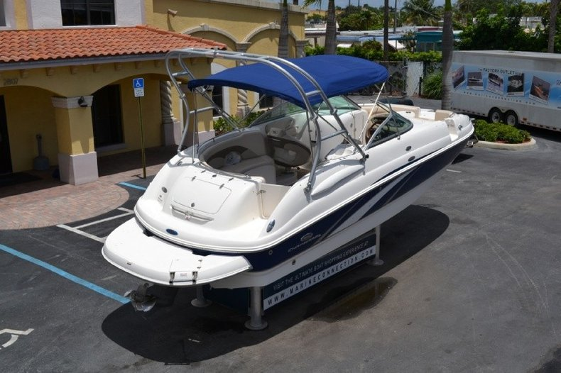 Used 2006 Chaparral Sunesta 254 Deck Boat boat for sale in ...
