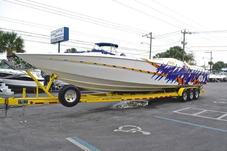 Used 2000 Cigarette 42 Tiger Boat For Sale In West Palm