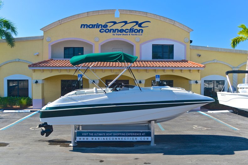 Used 2000 Tahoe 220 Deck Boat for sale