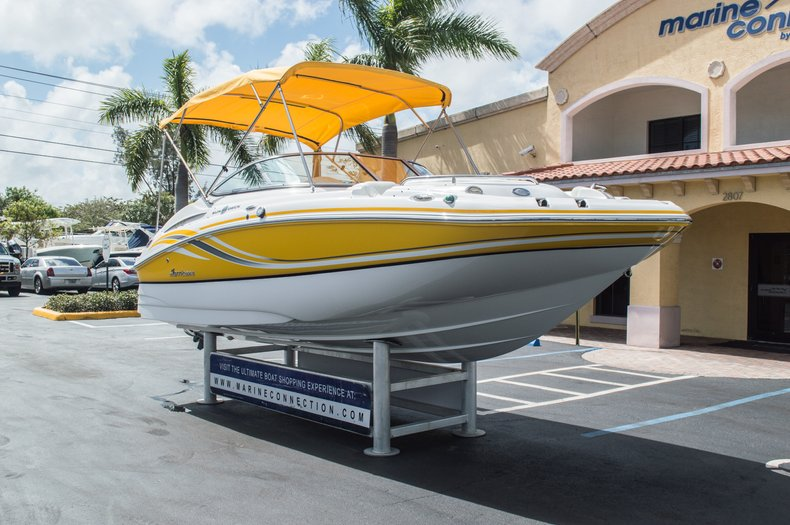 Thumbnail 2 for Used 2013 Hurricane SunDeck SD 2000 OB boat for sale in West Palm Beach, FL