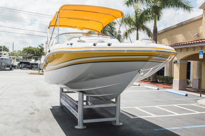 Thumbnail 3 for Used 2013 Hurricane SunDeck SD 2000 OB boat for sale in West Palm Beach, FL