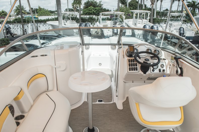 Thumbnail 15 for Used 2013 Hurricane SunDeck SD 2000 OB boat for sale in West Palm Beach, FL
