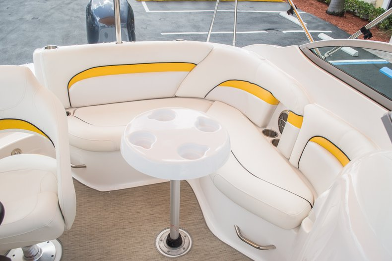 Thumbnail 20 for Used 2013 Hurricane SunDeck SD 2000 OB boat for sale in West Palm Beach, FL
