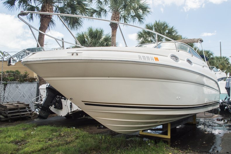 Thumbnail 1 for Used 2001 Sea Ray 260 Sundancer boat for sale in West Palm Beach, FL