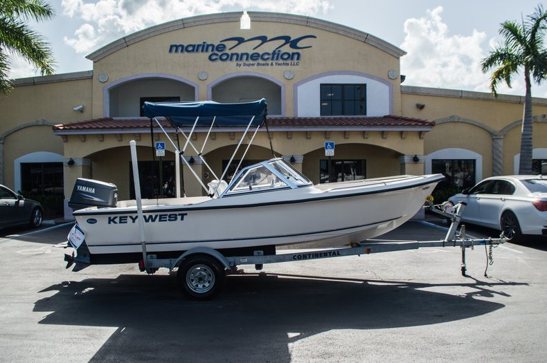 Used 2006 Key West 172 DC Dual Console boat for sale in West Palm Beach, FL
