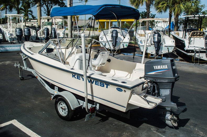 Thumbnail 5 for Used 2006 Key West 172 DC Dual Console boat for sale in West Palm Beach, FL