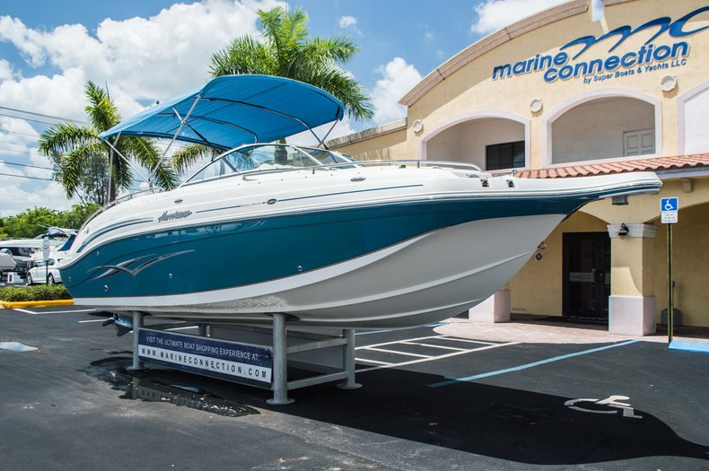 Thumbnail 1 for Used 2007 Hurricane Sundeck 257 DC boat for sale in West Palm Beach, FL