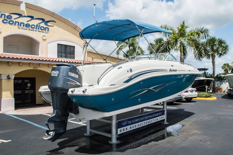 Thumbnail 8 for Used 2007 Hurricane Sundeck 257 DC boat for sale in West Palm Beach, FL