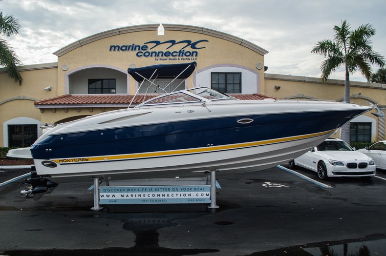 Used 2002 Monterey 2985 Bowrider Boat For Sale In West Palm Beach