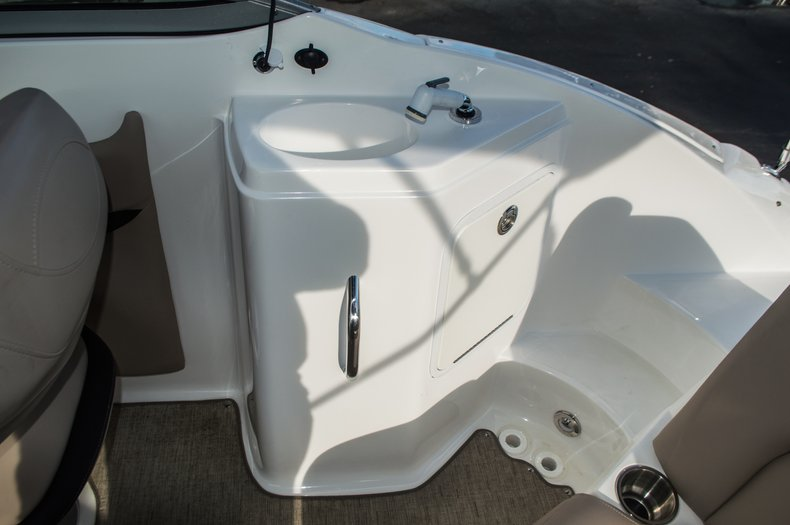 Thumbnail 37 for Used 2014 Hurricane SunDeck SD 2200 DC OB boat for sale in West Palm Beach, FL