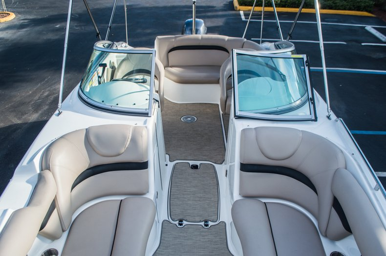 Thumbnail 50 for Used 2014 Hurricane SunDeck SD 2200 DC OB boat for sale in West Palm Beach, FL