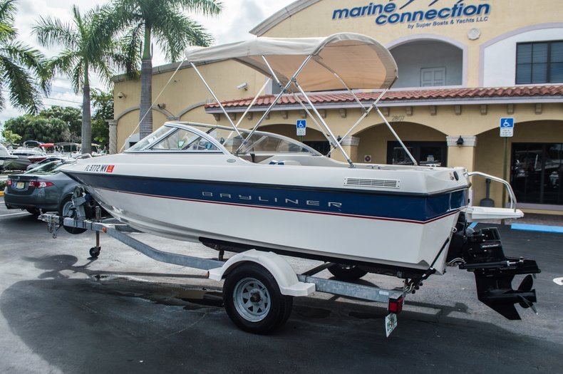 Used 2005 Bayliner 195 Classic Boat For Sale In West Palm