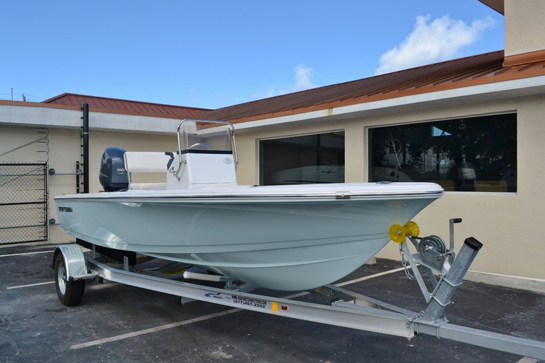 Thumbnail 1 for New 2016 Sportsman 18 Island Bay boat for sale in West Palm Beach, FL
