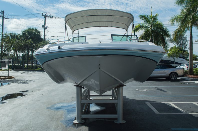 Thumbnail 2 for New 2016 Hurricane SunDeck SD 187 OB boat for sale in West Palm Beach, FL
