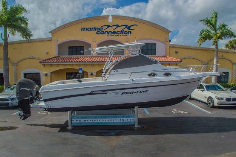 Thumbnail 61 for Used 1999 Pro-Line 251 WAC boat for sale in West Palm Beach, FL