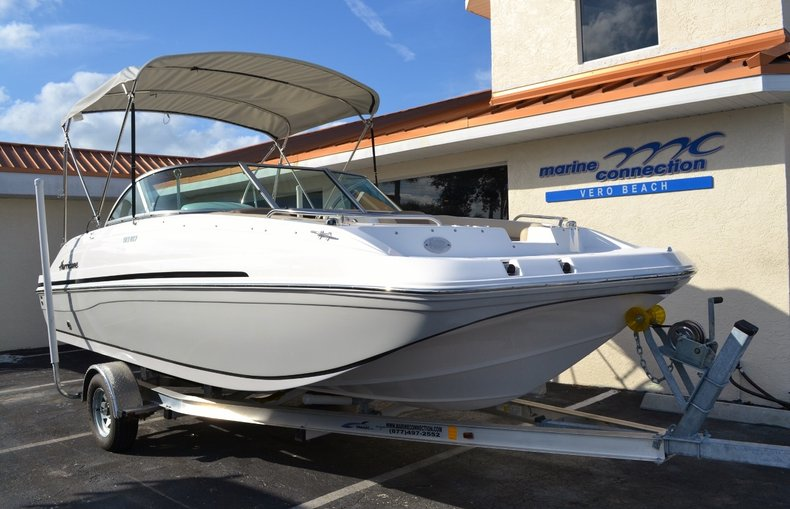 Image 1 for 2016 Hurricane SunDeck SD 187 OB in West Palm Beach, FL