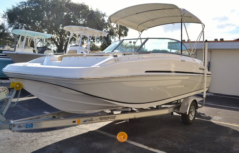 Image 3 for 2016 Hurricane SunDeck SD 187 OB in West Palm Beach, FL